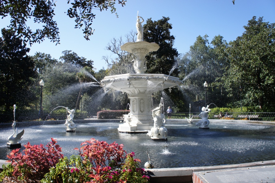 Fountain in Forsyth Park