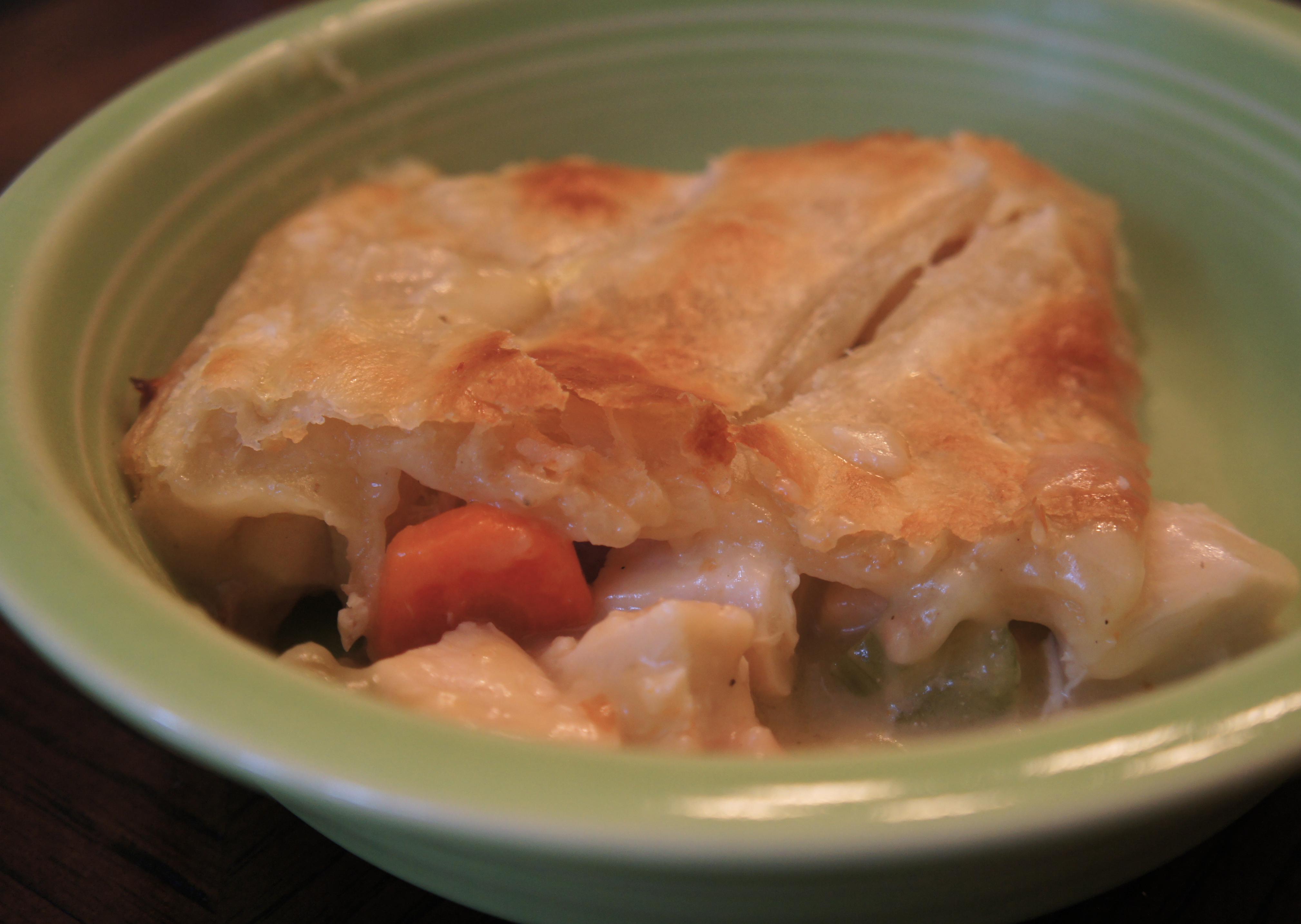 Puff-Pastry Chicken Pot Pie | Happ B.