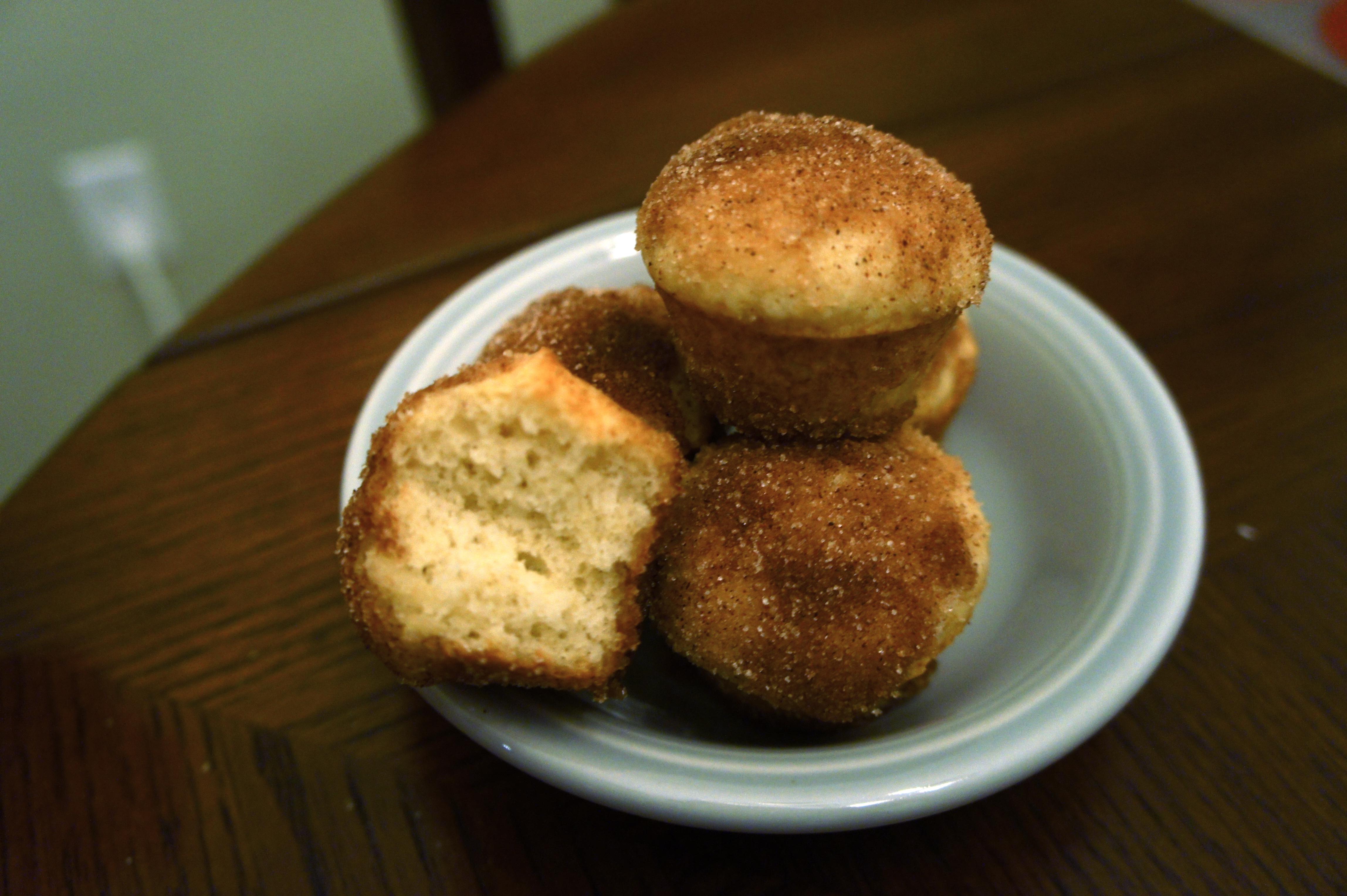 Cinnamon Brown Butter Puffs | HappB