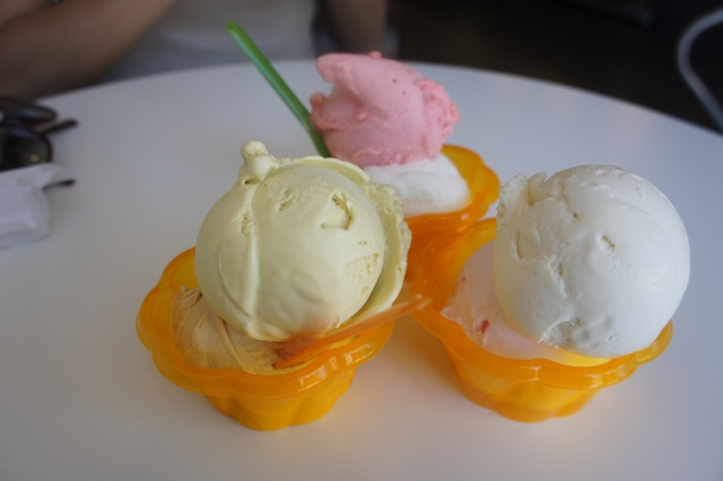 Fainting Goat gelato